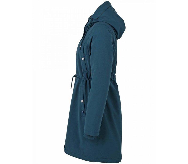 Danefae - nora winter parka - dusty blue
