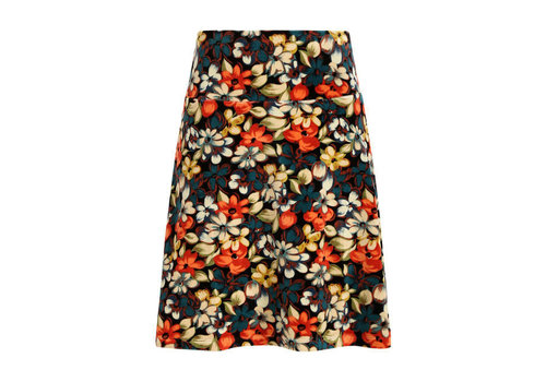 King Louie King Louie - border skirt lovell - black