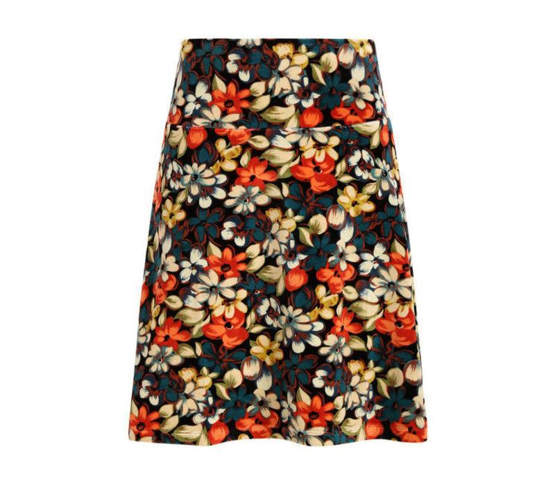 King Louie - border skirt lovell - black