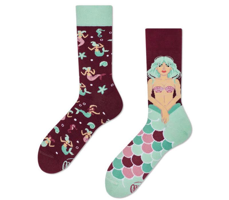 Many mornings - sokken - mystic mermaid