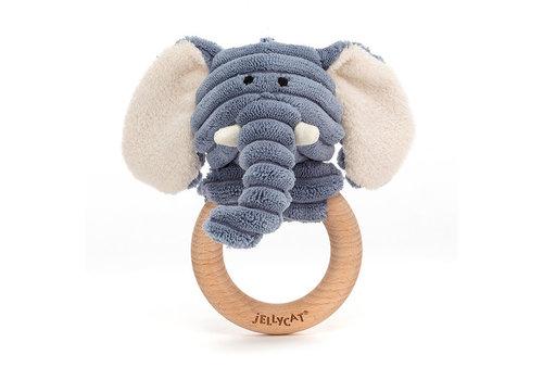 Jellycat Jellycat - cordy roy rammelaar - olifant