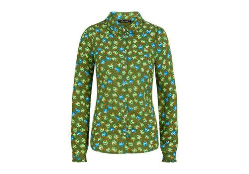 King Louie King Louie - sophie blouse perry - fairway green