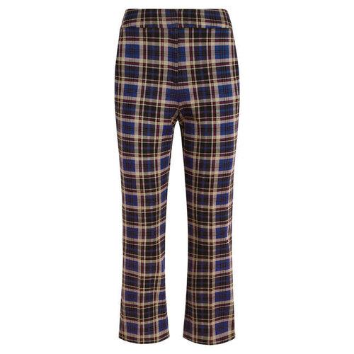 King Louie - jenny pants rodeo check - streeple blue