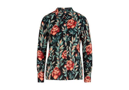 King Louie King Louie - winona blouse florence - black