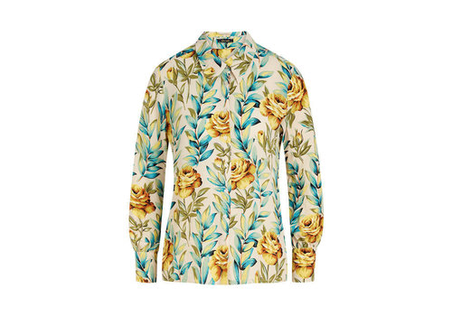 King Louie King Louie - winona blouse florence - ivory