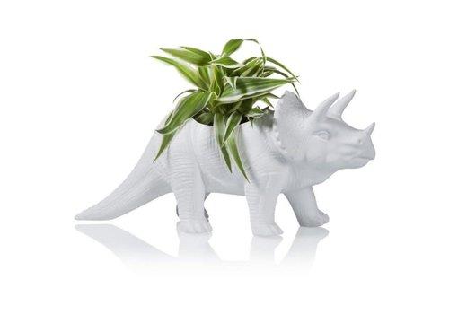 Bitten Bitten - bloempot - triceratops