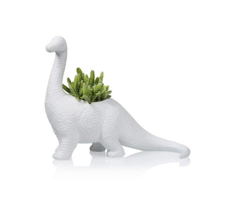 Bitten - bloempot - brachiosaurus