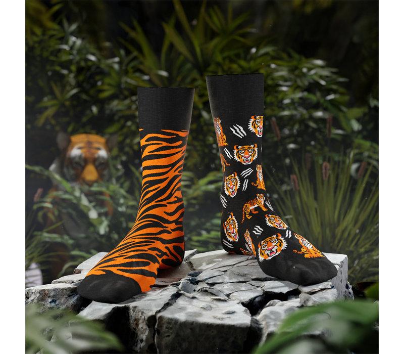 Many mornings - sokken - feet of the tiger