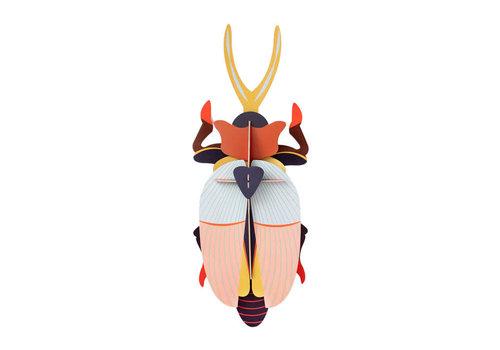 Studio Roof Studio Roof - muurdecoratie - deluxe rhinoceros beetle
