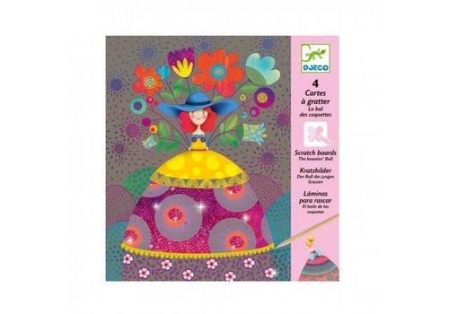 Djeco Djeco - kraskaarten - het bal van de kokette dames