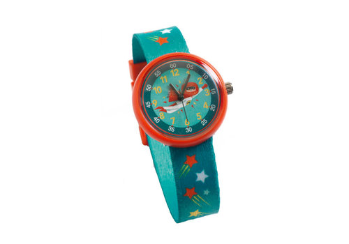 Djeco Djeco - ticlock horloge - super held