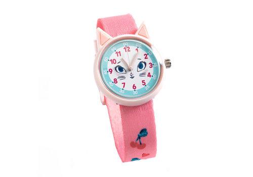 Djeco Djeco - ticlock horloge - kat