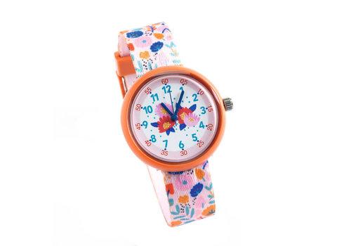 Djeco Djeco - ticlock horloge - flowers