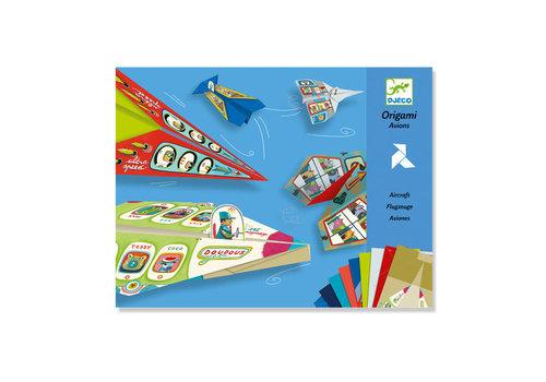 Djeco Djeco - vouwen - vliegtuigjes