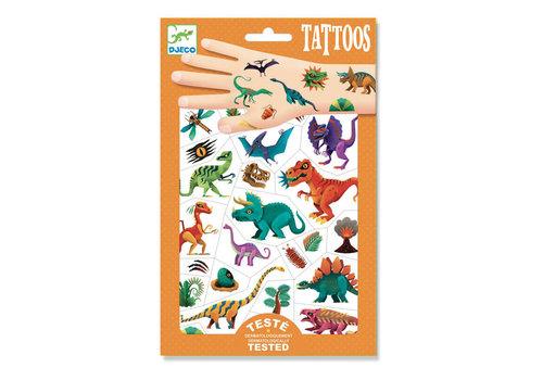 Djeco Djeco - tattoos - dino