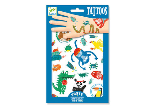 Djeco Djeco - tattoos - gekke bekken