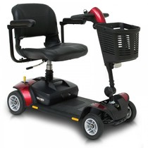 scootmobiel opvouwbaar GoGo Elite Traveller LX 4 wiel