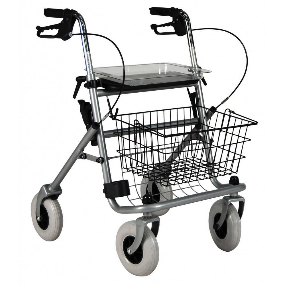 Roma Medical Safety Walker 4-wiel rollator