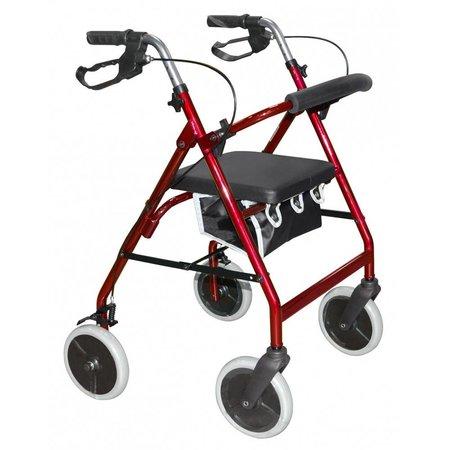 Roma Medical 2463 lichtgewicht 4-wiel rollator