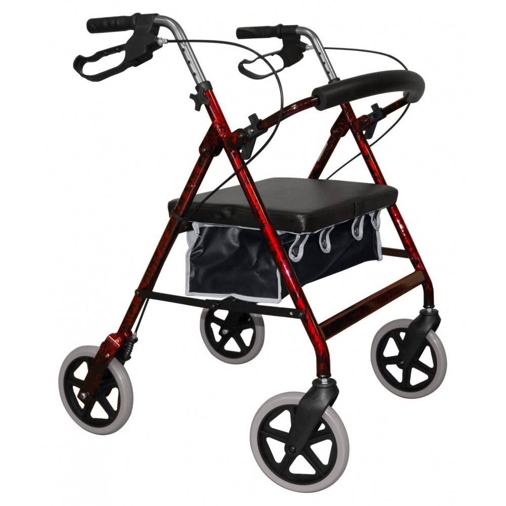 Roma Medical 2467 grote 4-wiel rollator
