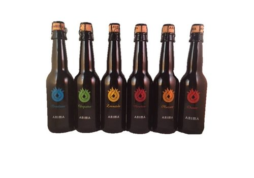 Anima Anima birra assortie 0,33cl 24st