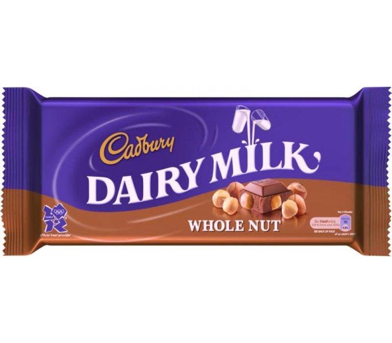 Cadbury Whole Nut 120g 16tb