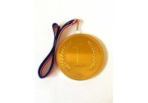 Display medaille nr. 1 met lint 24st