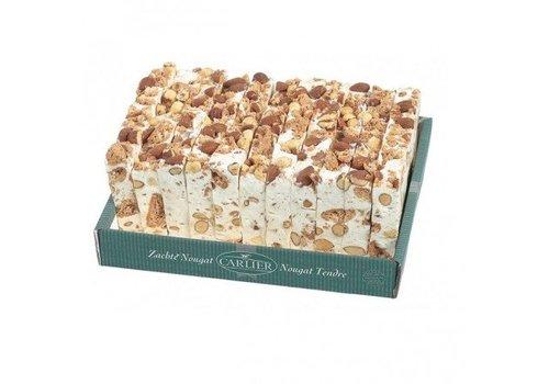 Carlier Carlier Nougat cake amandel hazelnoot 180g 11st
