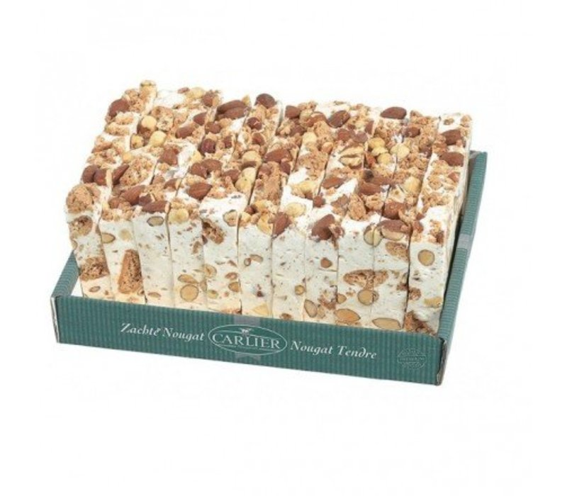 Carlier Nougat cake amandel hazelnoot 180g 11st