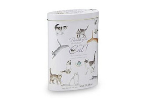 Gardiners of Scotland Thank you cat tin 250g 12st