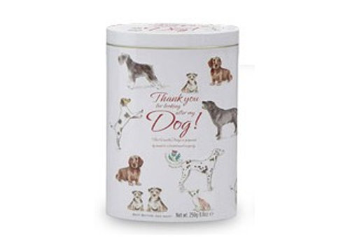 Thank you dog tin 250g 12st