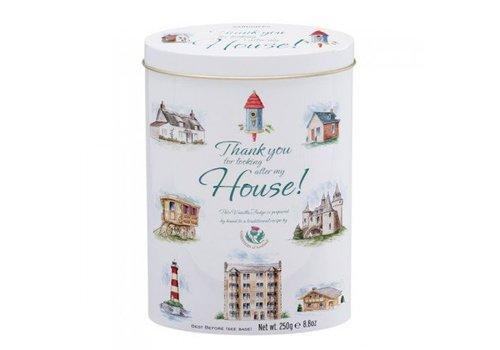 Gardiners of Scotland Thank you house tin 250g 12st