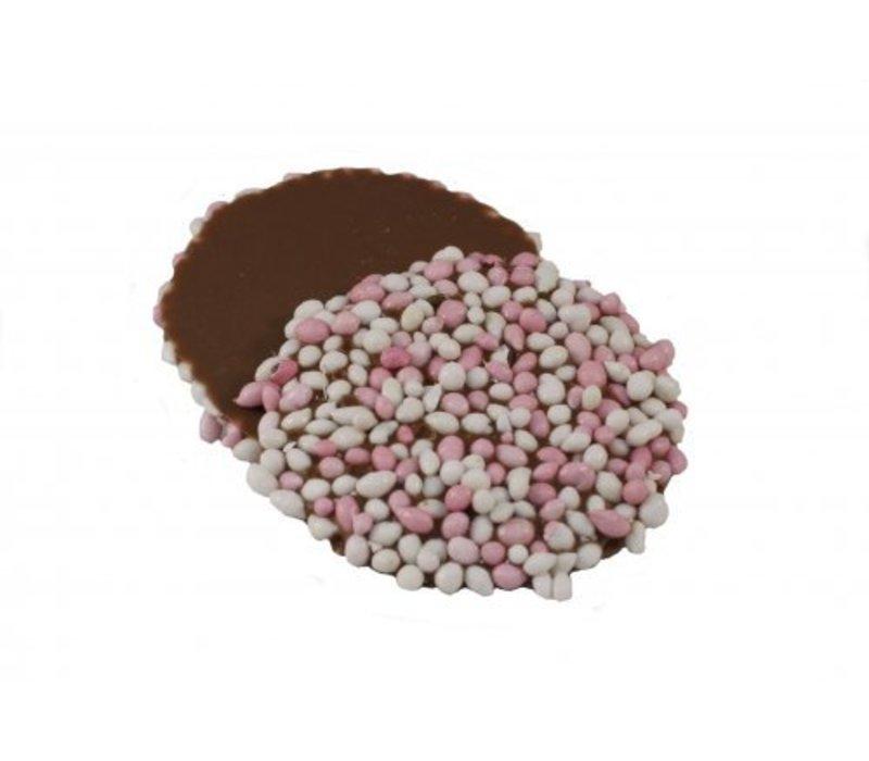 Oublies geboorte anijs rose/wit 14g 2kg
