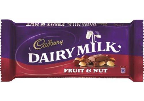 Cadbury Cadbury Fruit & Nut 120g 18tb