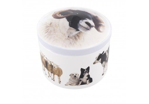 Gardiners Farm Animals Tin vanilla 200g 12bl