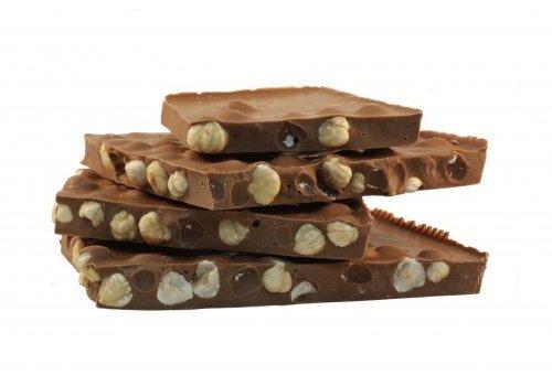 Hazelnoot breek chocolade melk 5kg