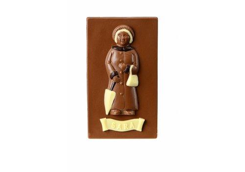 Sara chocolade melk 300g 3st
