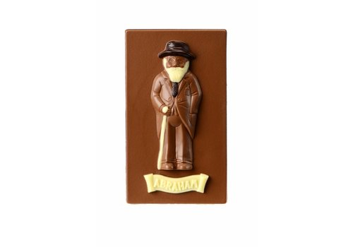 Abraham chocolade melk 300g 3st