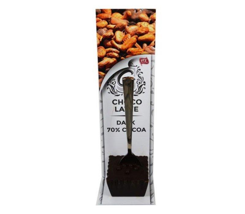 Choco Latte Puur 70% 10st