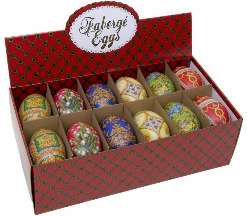 Faberge Imperial eggs ass 24st