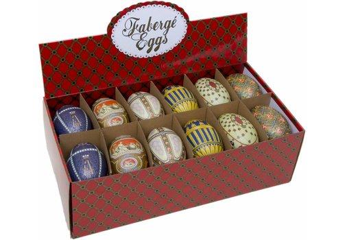 Faberge eggs ass 24st