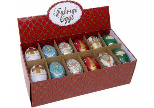 Faberge Jubilee eggs ass 24st