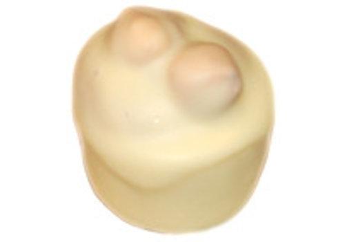 Bonbons Hazelnoot creme nr.10 wit 1kg