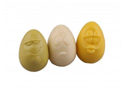 Kinder eitjes wit-geel-groen ass 10g 2,5kg