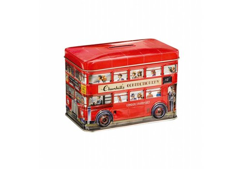 Churchill's Churchill's London Bus tin 200g Toffees 12bl