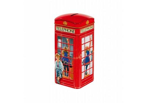 Churchill's Churchill's Telephone Kiosk tin 200g Toffees 12bl