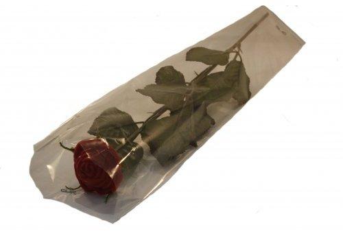 Rozen chocolade rood verpakt 24st