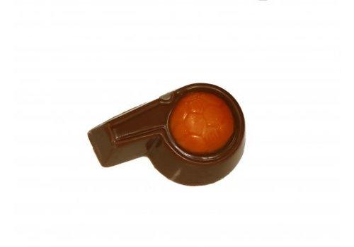 Voetbal Fluitjes melk oranje 8g 2,5kg