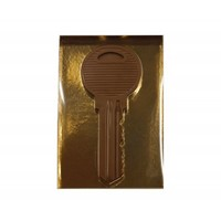 Sleutel chocolade melk 400g 3st