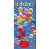 3D Reep Gefeliciteerd (Ballonnen) 100g 5st
